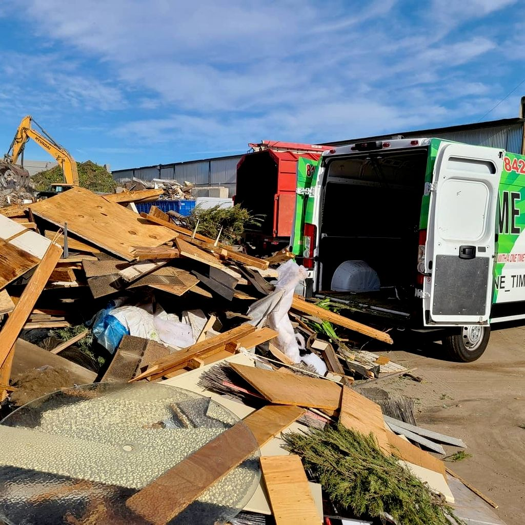 One Time Cut Junk Removal and hauling