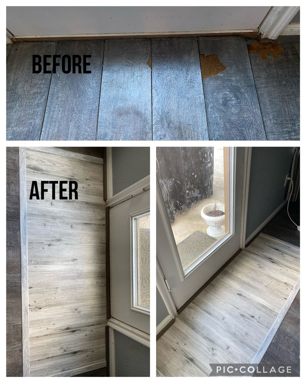 Fix entrance floor
