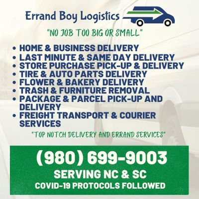 Avatar for Errandboy Logistics