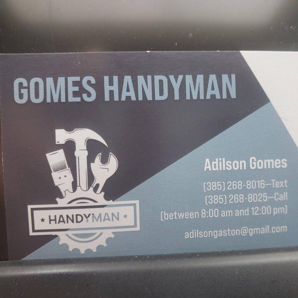 Gomes Handyman. I'm new member of thumbtack