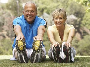 In Home Training for Seniors to help with balance and flexibility