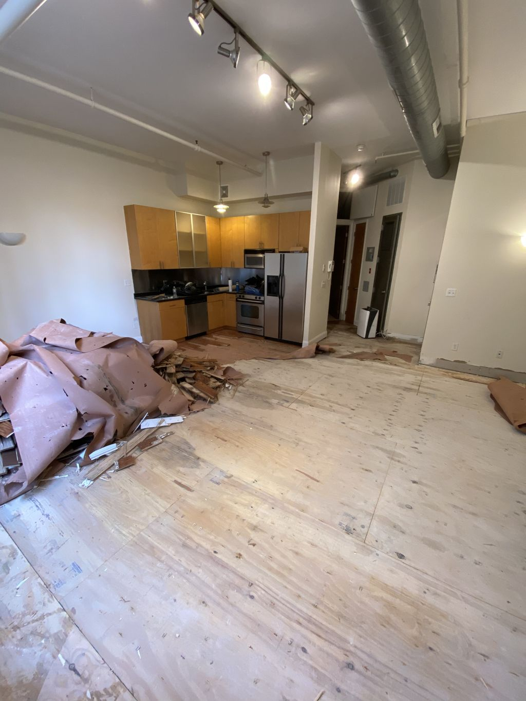 New floors & Paint