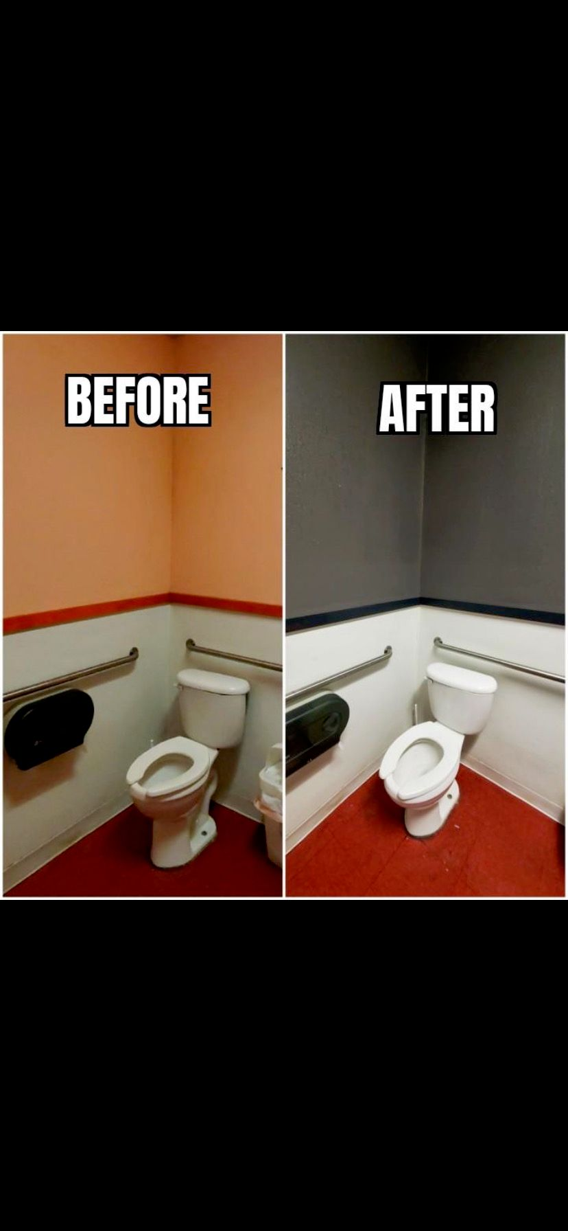 Bringing two bathrooms back to life