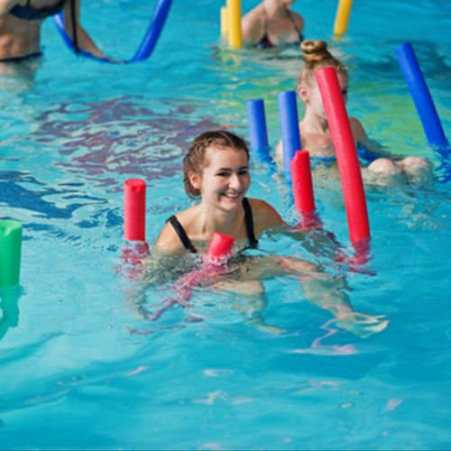 Aqua Fitness, our signature Swan Strength course.