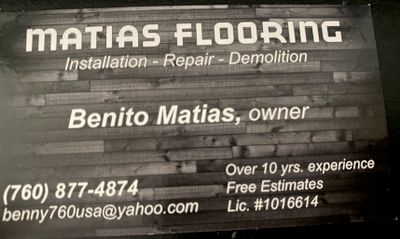 Avatar for Matias Flooring C-15  1016614