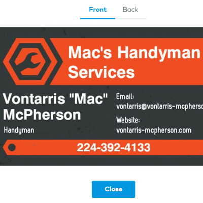 Avatar for Mac's Handyman Services