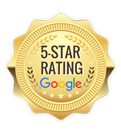 5-Star Google rating