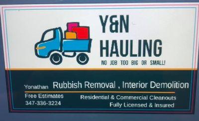 Avatar for Y&N hauling