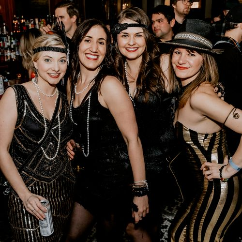 Ameliah's Gatsby Themed 30th Birthday Bash at Gman Tavern