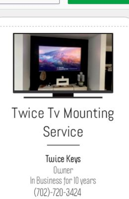 Avatar for Twice Tv Mounting Service's