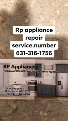 Avatar for Rp Appliance.  Tech service
