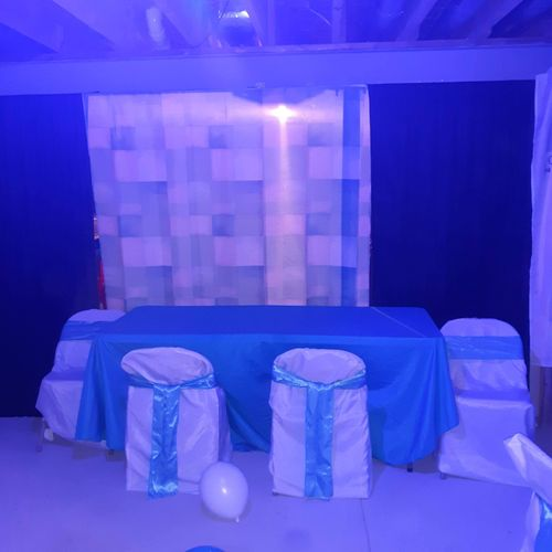 Linen - Table & chair covering & sashes