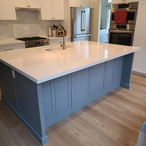 Kitchen Remodel with Center Island 92130