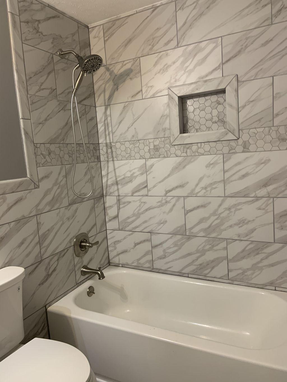 Full Double bathroom remodel