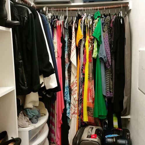 (Before) Master Closet