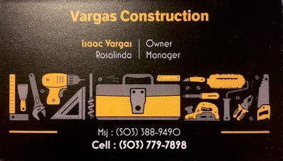 Avatar for Vargas Construction