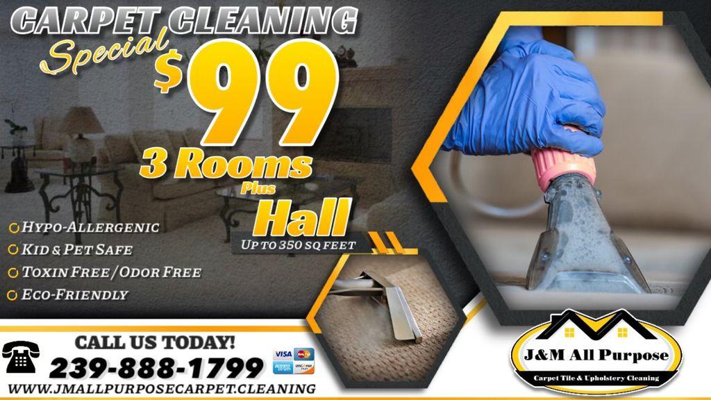 J & M All Purpose LLC Carpet Tile & Upholstery