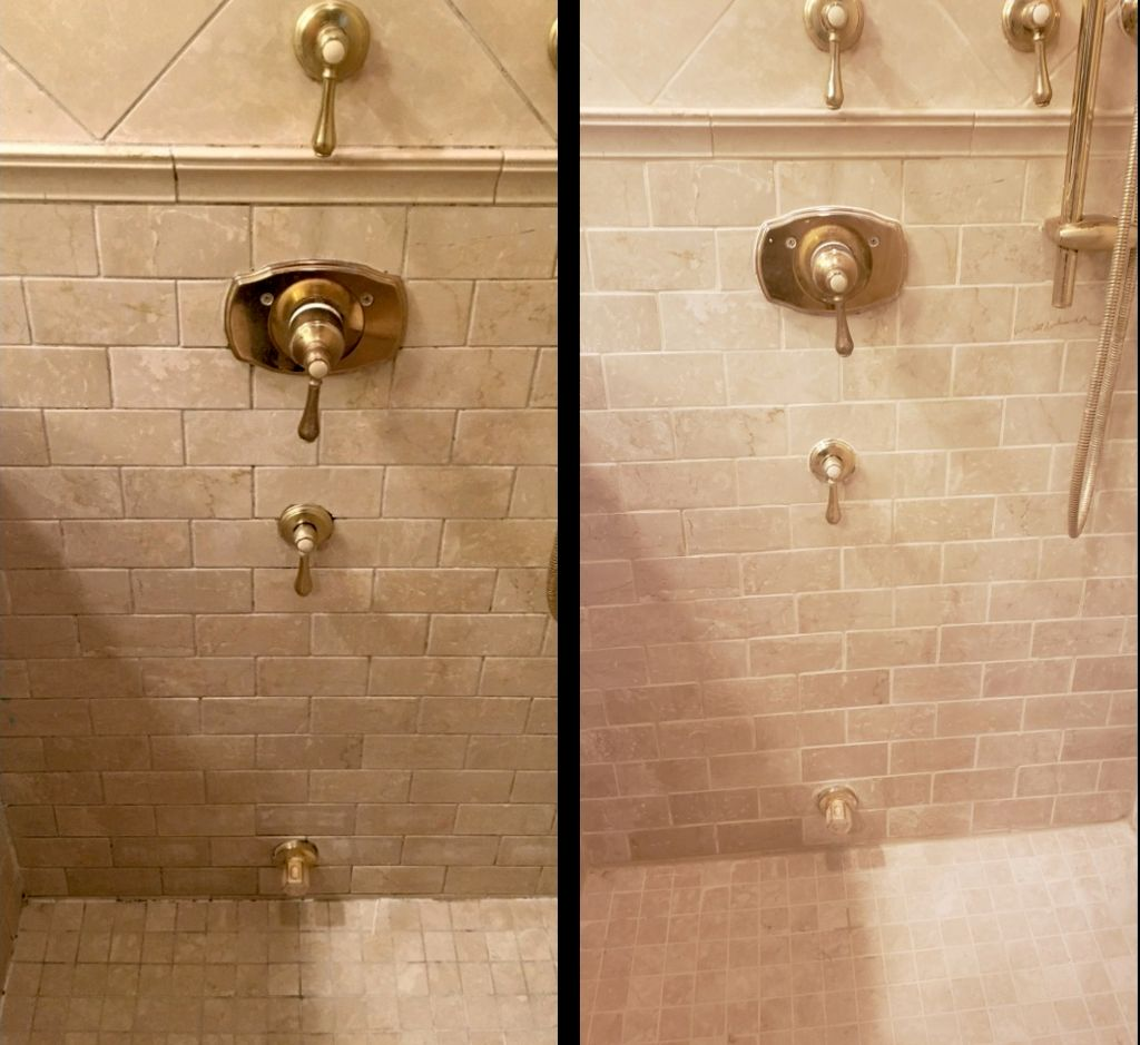 Shower Grout Removal And New Grout Installation