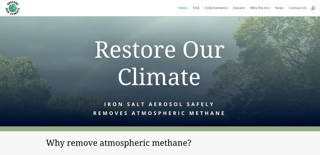 Restore Our Climate