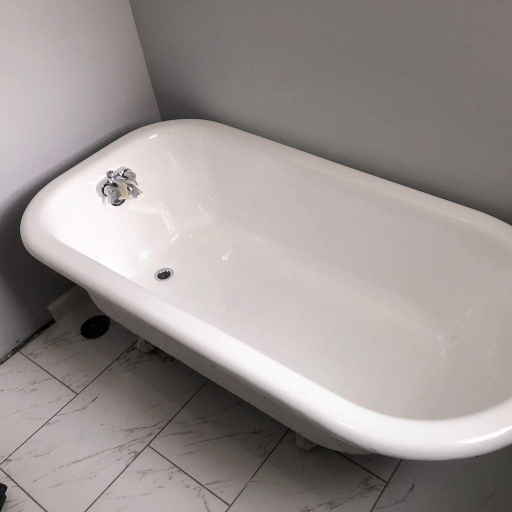 Odorless Bathtub Refinishing   Reglazing