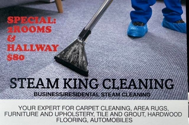 Steam king cleaning