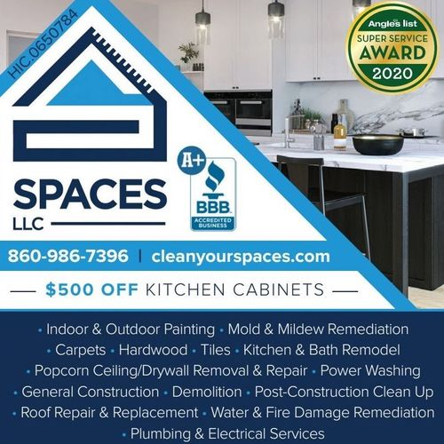 $500.00 OFF KITCHEN CABINETS