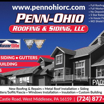 PENN OHIO ROOFING & SIDING GROUP LLC