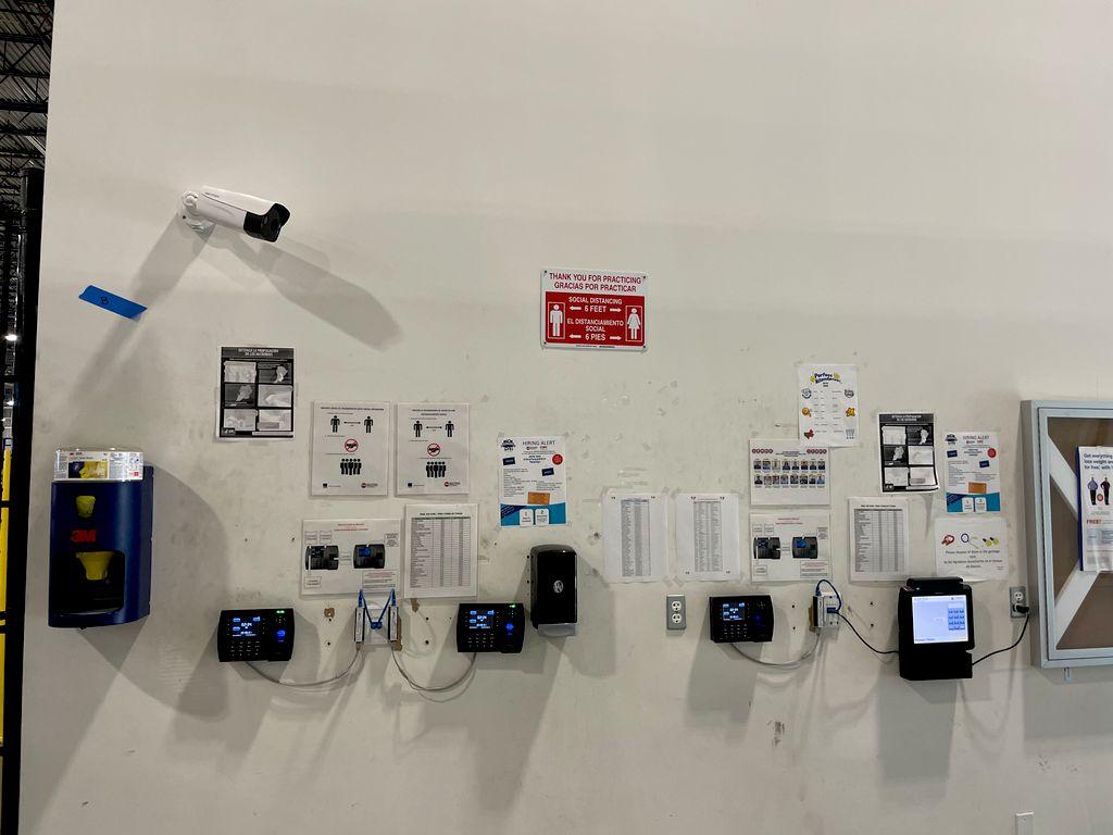 CCTV ip camera installation