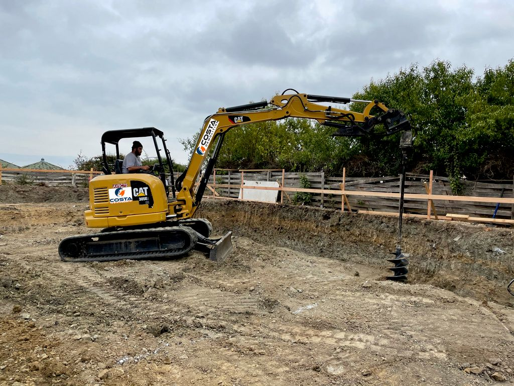 Total Demolition and Excavation for New Foundation