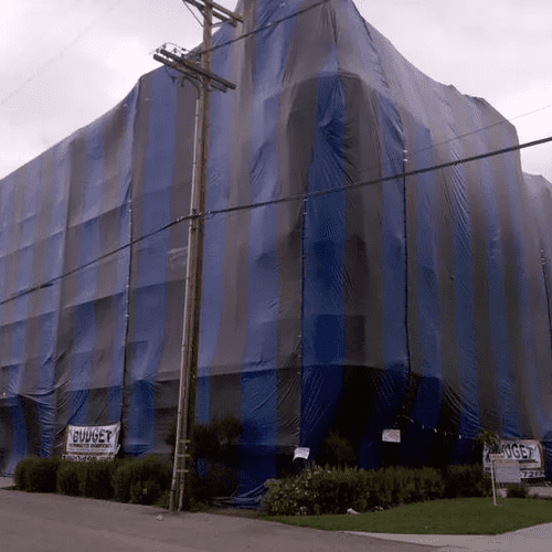 5 Story Apartment Budget Termite Fumigated in Hollywood