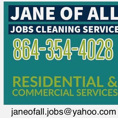 Avatar for JANE OF ALL JOBS CLEANING SERVICE