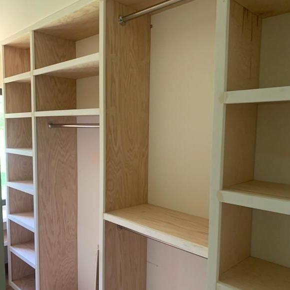 Elias carpenter and closet design