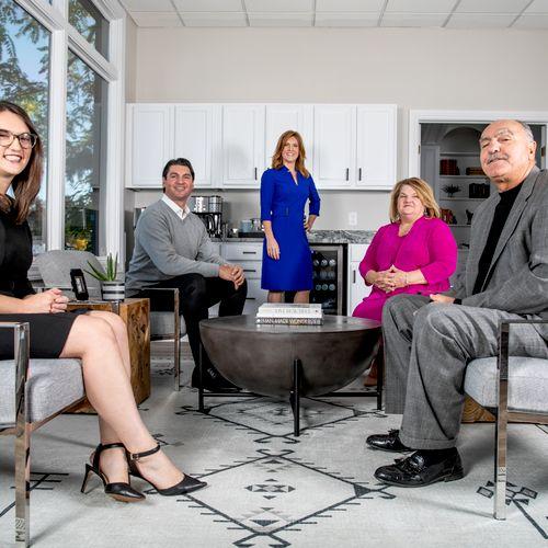 The Management Team: Mark and Betsy Abro, Children: Jennifer, Matt, and Michelle