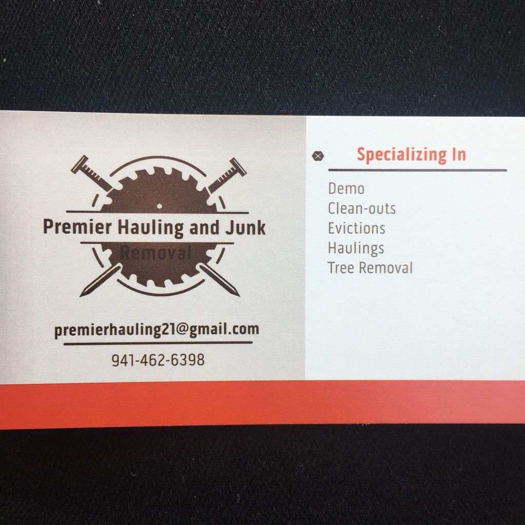 Premier Hauling and Junk Removal Llc