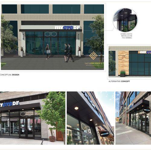 MyEyeDr - Retail Design