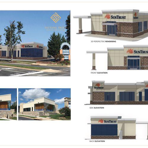 Bank Branch Design, 3D Modeling