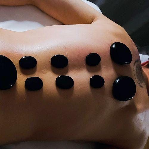 Theraputic hot stone treatments