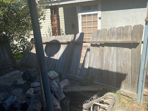 Backyard Fence Repairs