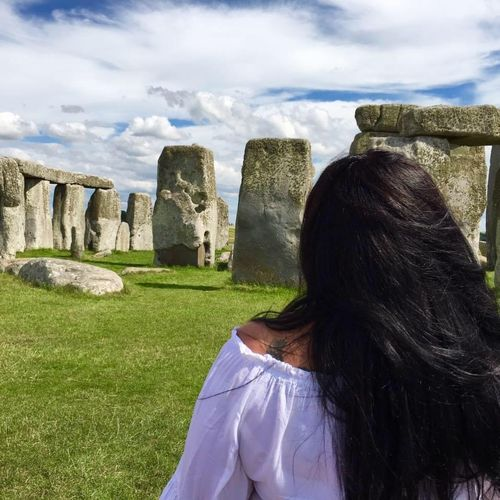 Meditation and honoring the ancestors at Stonehenge.