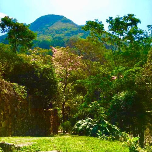 Leading a spiritual retreat in Huatulco, Mexico