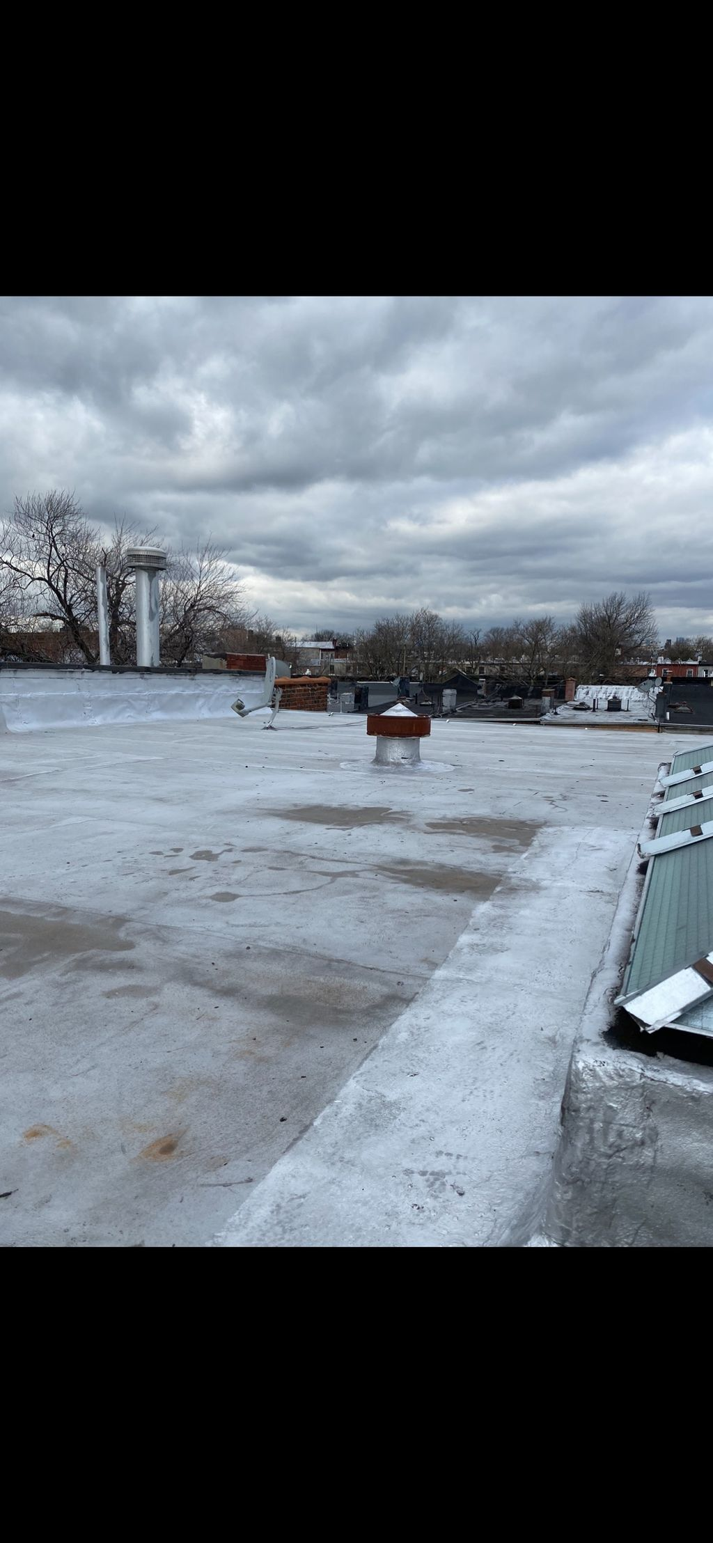 2000 SQ Ft Layover flat roof
