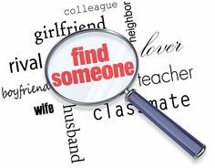 Looking for someone?