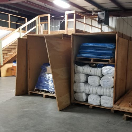 Moving Equipment and Storage