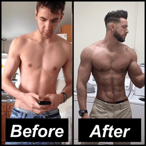 Client (Andre) Before & After