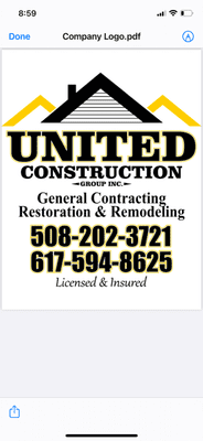 Avatar for United Construction Group inc.