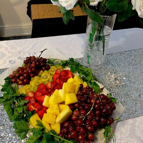 Fruit Platter! 😋