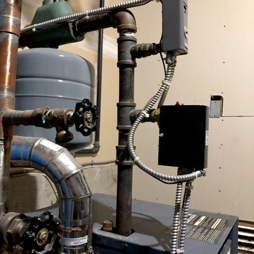 80% AFUE combi boiler