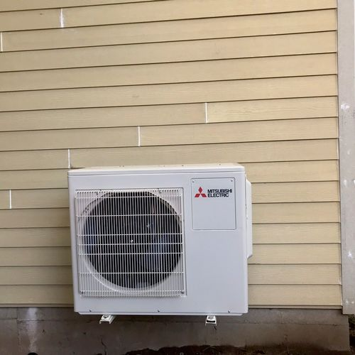 Two zone ductless for an ADU.