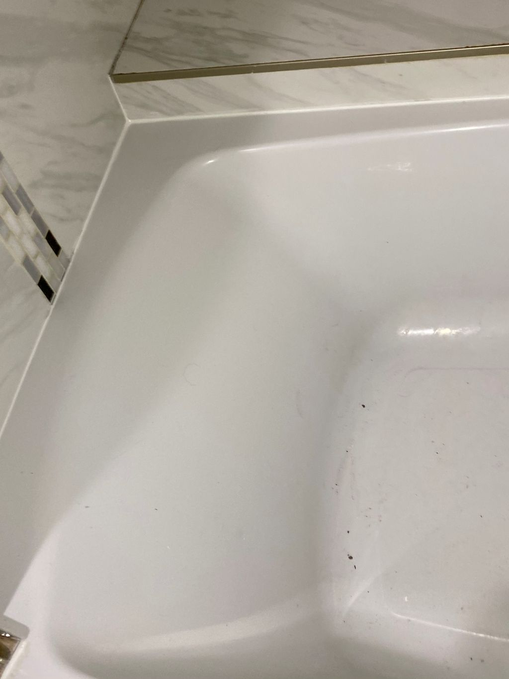 Bathtub re-caulking