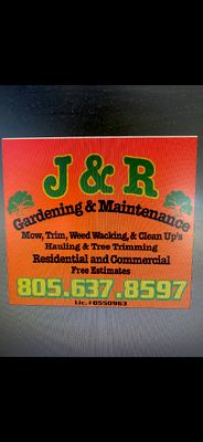 Avatar for J&R gardening services